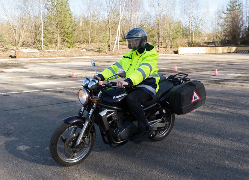 Mokomasis motociklas Kawasaki ER-5